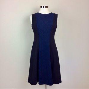Tommy Hilfiger Navy And Black color blocked dress